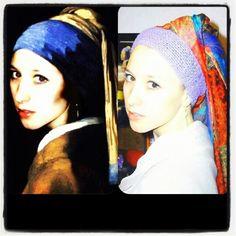 Girl with a Pearl Earring Het Meisjemet de Parel Johannes Vermeer inci Küpeli kız