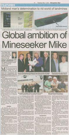 Mineseeker in The Press