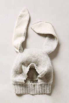 Bunny Ears Hat - anthropologie.com make a pattern?