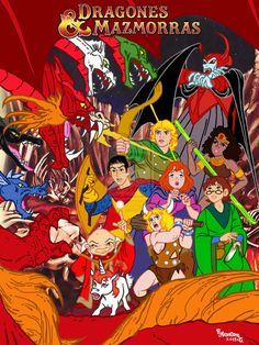 Dragones Y Mazmorras (Dungeons and Dragons) by Rob32 on DeviantArt