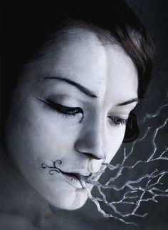 Mask of silver breath