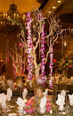 orchids for weddings   Destination Wedding Flower and Bouquet Ideas for Hawaii Weddings ...