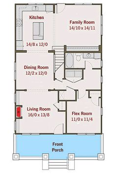 Classic Craftsman Cottage With Flex Room - 50102PH   2nd Floor Master Suite, Bungalow, CAD Available, Country, Craftsman, Den-Office-Library-Study, Northwest, PDF, Photo Gallery   Architectural Designs