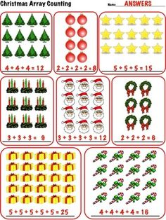 Arrays Around Us - Real Life Picture Cards of Arrays - 3.OA.3 ...