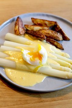 Witte asperges culy homemade