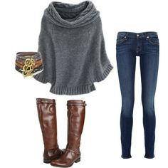 #Winter outfit <3 Cute  (maybe some different boots for me, though)