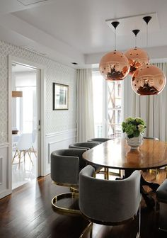 Home Decorating DIY Projects  :     Tom Dixon's Copper Pendant    -Read More –