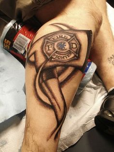 Firefighter Tattoo Quotes. QuotesGram