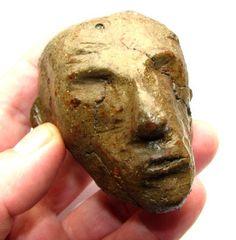 Antiquity Celtic British Iron Age Ceramic God Head by Timeslide, £2500.00