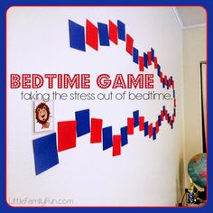 Bedtime Game for kids. How to have a smooth bedtime routine.