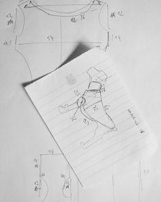 Something new for #KelakarClothing! Working on a custom dog sweater. #custom #dogsweater #dogwear #Erdélyikopó #sewingfordogs