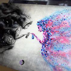 "4,858 Me gusta, 30 comentarios - 33third Media (@33thirdmedia) en Instagram: ""TAG FOLLOW @33THIRDMEDIA LIKE. ------- ARTIST: @PEZARTWORK #artwork #design #drawing #painting…"""