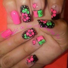 Cute Nail Art, Cute Nails, Pretty Nails, Acrylic Nail Designs, Acrylic Nails, Flower Nail Art, Tree Branches, Pink Nails, Pedicure