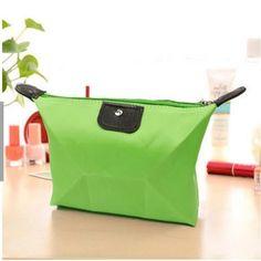 Makeup bag waterproof 1 PC Multi-colors Woman cosmetic bag Fashion Lady travel organizer black Pouch Clutch Storage makeup Bag