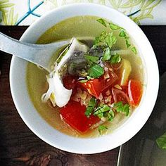 Simple Fish Soup | MyRecipes.com