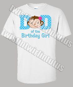 Personalized JUNGLE MONKEY Bananas Boy Girl Name /& Initial or Birthday T Shirt
