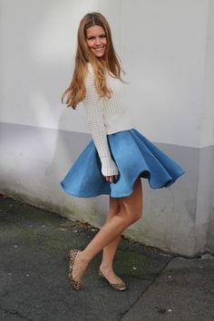 DENIM (SY DET SELV) Bell Sleeves, Bell Sleeve Top, Denim, Balmain, Topshop, Sewing, Women, Fashion, Moda