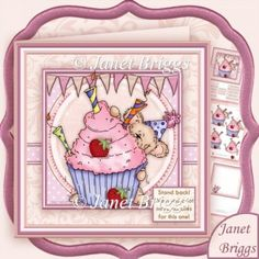 Stand Back We Need a Lot More Candles for This One Decoupage & Insert Mini Kit