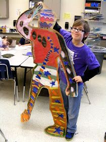 Suffield Elementary Art Blog!: I Ain't Gonna Paint No More Silhouettes