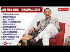 Jose Mari Chan Christmas Songs Compilation 2020   RicordingsPH Playlist - YouTube Little Christmas Trees, Christmas Night, Christmas Carol, Kids Christmas, Give Me Your Heart, Give It To Me, Christmas Songs Playlist, A Child Is Born, Children