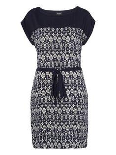 'Audrey' Printed Dress - Jeans West