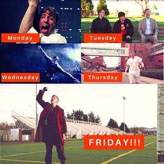 Friday feels... #TGIF