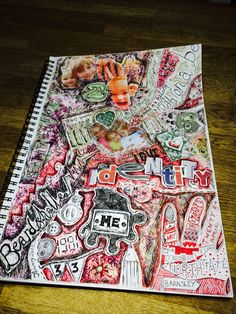 New art sketchbook brainstorm mind maps Ideas<br> A Level Art Sketchbook, Sketchbook Layout, Textiles Sketchbook, Sketchbook Ideas, Kunstjournal Inspiration, Sketchbook Inspiration, Mind Map Art, Mind Maps, Kreative Mindmap