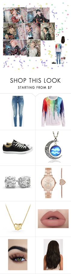"""""""~ Spread my wings ~ Bts outro"""" by tkyle134 ❤ liked on Polyvore featuring Ted Baker, Converse, Michael Kors and David Yurman"""