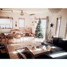 Overview/クリスマスツリー/こたつ天板DIY/ツリーがデカイ!!/2mのクリスマスツリーのインテリア実例 - 2015-11-03 05:51:54