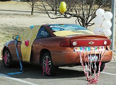 Decorate Car For Birthday