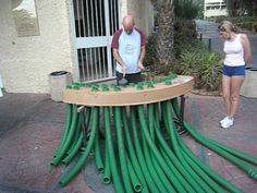 "The Plastic Pipe Organ played by Eyal ""Shachar"" Person"