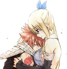 """— Official NaLu hugs from the movie «Fairy Tail Dragon Cry» ♡ """
