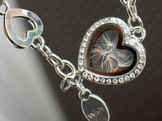 Real dandelion bracelet. dandelion silver Jewelry. by RafFinesse