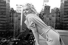 Marilyn Monroe - Balkon - plakat