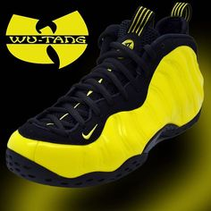 new product c5498 8ce75 NIKE AIR FOAMPOSITE ONE  OPTIC YELLOW   Wu-Tang