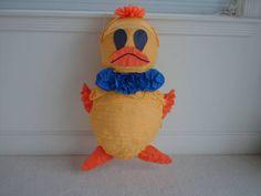 Yellow Duck Party Pinata, $44