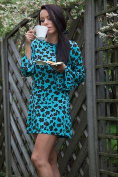 Coffe time.  Dress Blumarine  juliatomaszewska.com