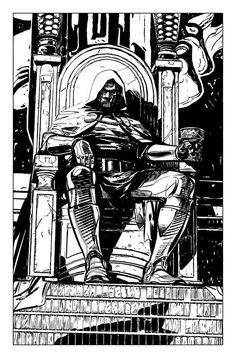 Dr. Doom by Alex Maleev *
