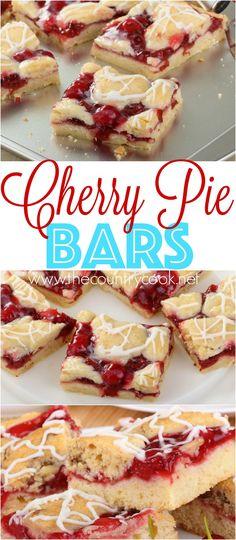 Cherry Pie Bars reci