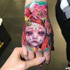 Hand tattoo by greta pisotti tattoo tattoos, hand tattoos и Piercing Tattoo, I Tattoo, Tattoo Girls, Libra Tattoo, Piercings, Badass Tattoos, Body Art Tattoos, Scary Tattoos, Awesome Tattoos