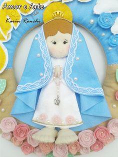 Felt Crafts, Fabric Crafts, Diy And Crafts, Christmas Crafts, Crafts For Kids, Arts And Crafts, Christmas Nativity, Christmas Ornaments, Felt Angel