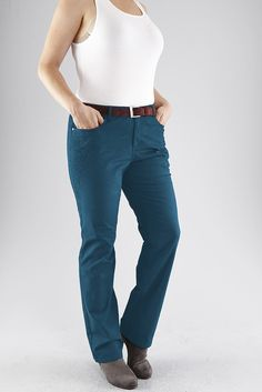 Typ , Hose, |Material , Stretch, |Materialzusammensetzung , 97% Baumwolle, 3% Elasthan, |Beinform , gerade, |Länge , lang, |Innenbeinlänge , 64,5 cm, | ...