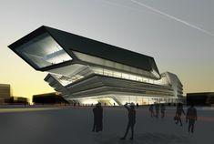 ZAHA HADID!!!!!!!!!!!!!! new university campus vienna: zaha hadid architects