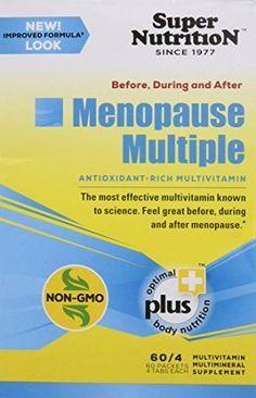 SuperNutrition Menopause Multiple Blend Multivitamins 30 Count -- Visit the image link more details.