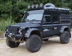 A 110 Defender with Portale Axles - Land Rover Defender - Wikipedia, the free encyclopedia