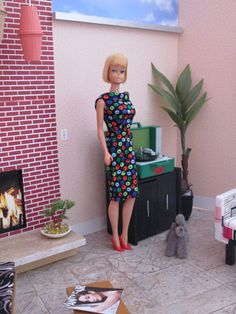 Vintage bendable leg Barbie
