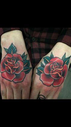 flowers Traditional Tattoo Flowers, Traditional Style Tattoo, Flower Tattoos, Skull, Tattoos Of Flowers, Floral Tattoos, Traditional Tattoo, Blossom Tattoo, Skulls