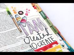 Tips on how to get started Bible Journaling   Natalie Elphinstone - YouTube
