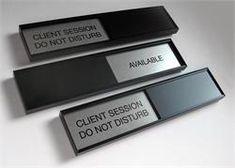 Conference Room Sign Sliders