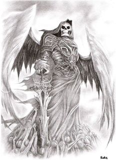 1000 Images About Tattoos On Pinterest Angel Of Death